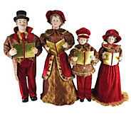 Set of 4 27 to 37 Victorian Carolers by Santas Workshop - H290082