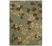 Sphinx Silk Flowers 4 x 6 Wool Rug by Oriental Weavers - H355182