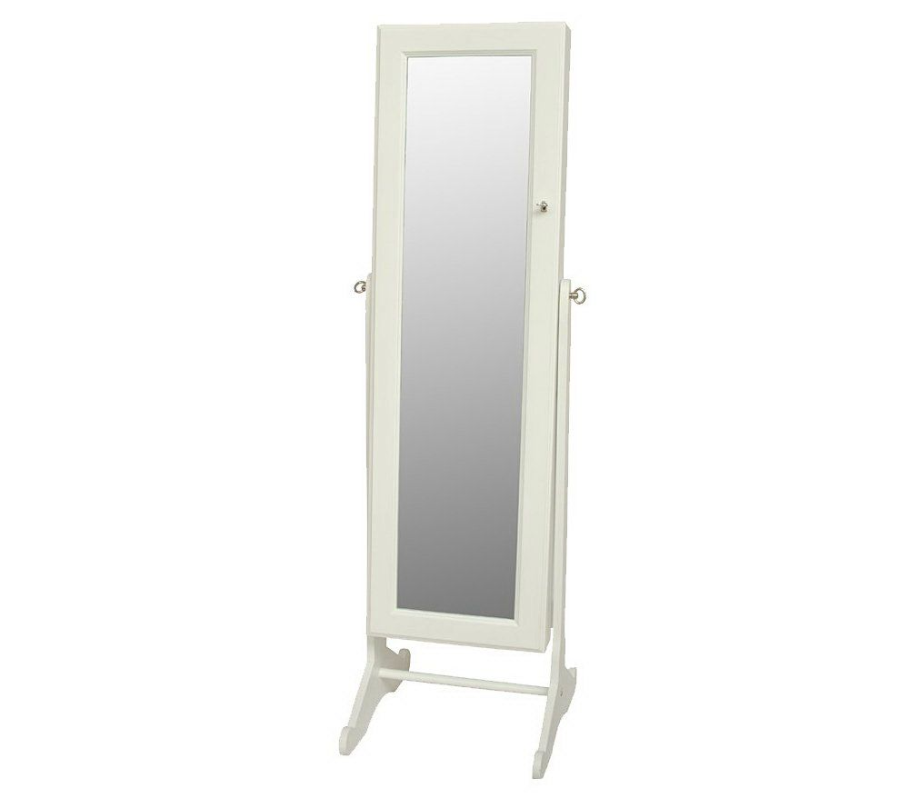 Gold Silver Safekeeper Mirrored Jewelry Cabinet by Lori Greiner