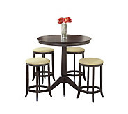 Hillsdale Furniture Tiburon 5-Piece Pub Table Set - H159383