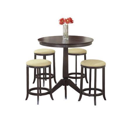 Hillsdale Furniture Tiburon 5 Piece Pub Table Set