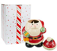 Temp-tations 23 oz. Ceramic Holiday Figural Candle with Gift Box - H203383