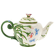 Temp-tations 50 oz. Dragonfly Teapot - H204983