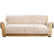 Sure Fit Deluxe Waterproof Non-Skid Back Furniture Cover Sofa - H205083