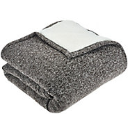 ED On Air Melange Sweaterknit Throw by Ellen DeGeneres - H206183