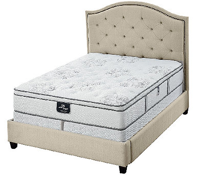 "Serta Perfect Sleeper Private Luxury 12.5"" EuroTop Mattress Set - H207083"