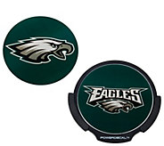 As Is NFL Motion Activated Light Up Decals by Lori Greiner - H207583