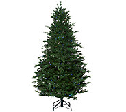 As Is Santas Best 6.5 Balsam Fir Tree with RGB  Function - H208183