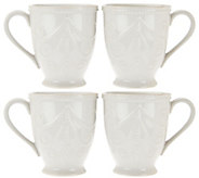 Lenox French Perle 4-pc Mug Set - H208983