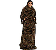 Slanket with Pocket Pouch: The Blanket with Sleeves - H212983