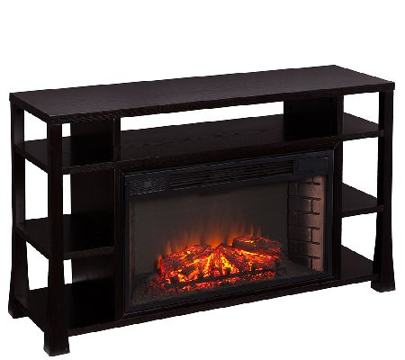 Stanton Media Electric Fireplace — QVC