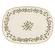Lenox Holiday Oblong 12-1/4 Platter - H363883