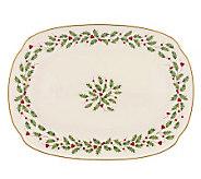 Lenox Holiday Oblong 12-1/4 Platter - H363883
