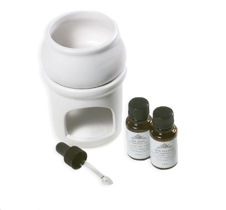 Culpeper Of England Essential Oils With Burner Qvc Com
