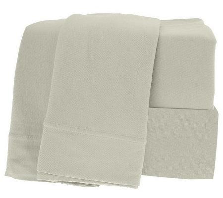 northern nights egyptian cotton jersey knit king size sheet set h98383. Black Bedroom Furniture Sets. Home Design Ideas