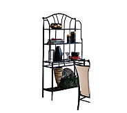 Hillsdale Furniture Mix n Match Bakers Rack-Black - H132084
