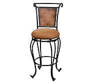 Hillsdale Furniture Milan Swivel Bar Stool - H142384