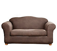 Sure Fit Stretch Faux-Leather Two-Piece Sofa Slipcover - H174484