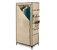 Honey-Can-Do 27 Storage Closet With Shoe Organizer - H184084