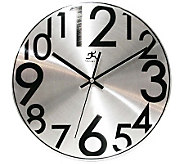 Silver Twinkle Metal Wall Clock - H187584