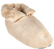 Dennis Basso Signature Faux Fur Slipper Booties - H206784