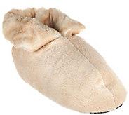 Dennis Basso Signature Faux Fur Slipper Booties - H206784