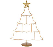 Joan Rivers Set of 12 Mini Russian Egg Ornament Tree Stand - H209484