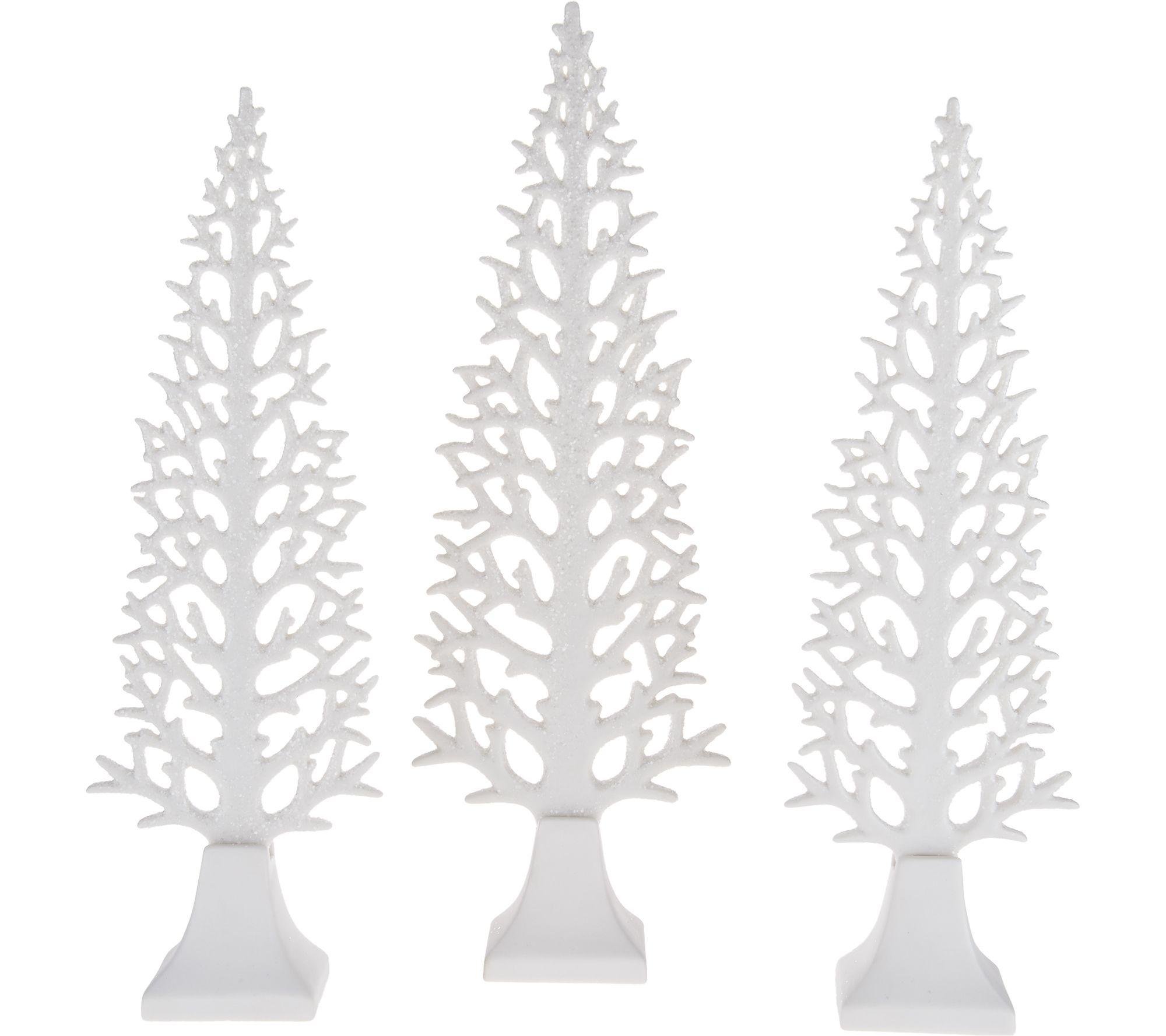 qvc ceramic christmas tree with lights