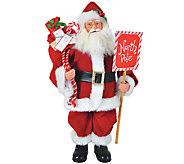 15 Santa w/ North Pole Sign by Santas Workshop - H285184