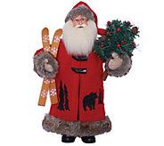 15 Black Bear Santa by Santas Workshop - H290084