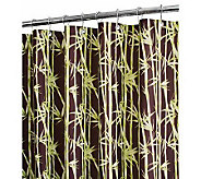 Watershed 2-in-1 Bamboo Garden 72x72 Shower Curtain - H356884