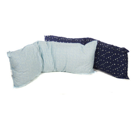 Glow in the Dark Body Pillow with Stars