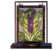 Meyda Tiffany-Style Jack-In-The-Pulpit Mini Window Display - H124485