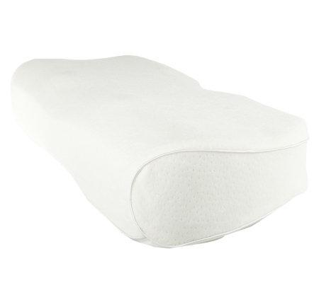 brookstone anti snore memory foam pillow. Black Bedroom Furniture Sets. Home Design Ideas