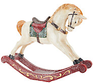 18 Glittered Handpainted Rocking Horse by Valerie - H203885