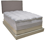 Beautyrest Memorelle Full Mattress Topper with Skirt & Stain Release - H204585