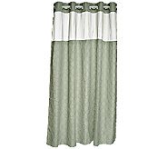 Hookless Modern Mosaic 3 in 1 Shower Curtain - H205585