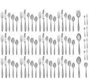 Lenox 18/10 Stainless Steel 72pc Service for 12 Flatware Set - H208985