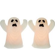 Set of 2 Lit Halloween Figures by Candle Impressions - H209285