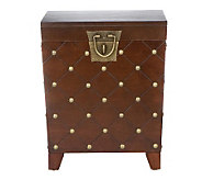 Bexar Espresso Nailhead End Table Trunk - H280685