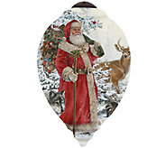 Limited Edition Woodland Santa Ornament  by NeQwa - H286785