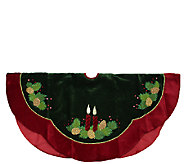 48 Velvet Pine Branch Tree Skirt by Northlight - H286885
