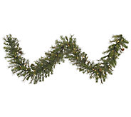 9 Prelit Modesto Mixed Pine Garland by Vickerman - H287685