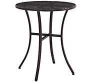 Palm Harbor Outdoor Wicker Bistro Table - H288585