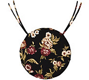 Plow & Hearth Classic Round Chair Cushions withTies - H289385