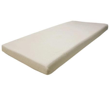PedicSolutions Sofa Bed Memory Foam Twin Mattress — QVC