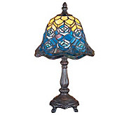 Meyda Peacock Feather Mini Lamp - H112386