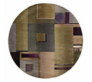 Sphinx Contempo 6 x 6 Round Rug by Oriental Weavers - H126986
