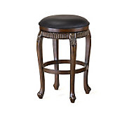 Hillsdale Furniture Fleur-de-Lis Backless Swivel Bar Stool - H142086