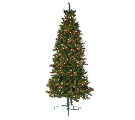 Bethlehem Lights 9' Slim Dew Drop Tree with Instant Power
